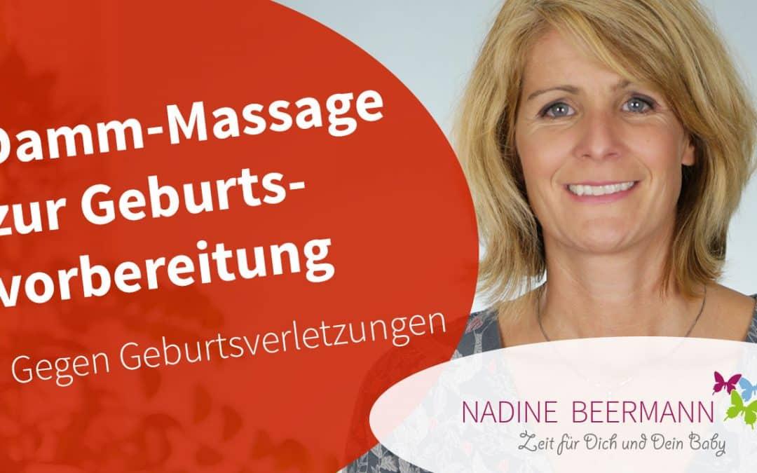 Damm-Massage zur Geburtsvorbereitung